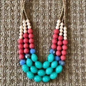 Jewelry - Colorful beaded statement necklace